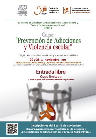 Prevención de Adicciones y Violencia Escolar