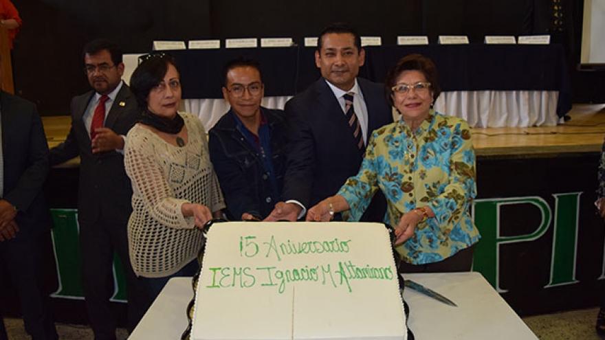 Quince años fortaleciendo el bachillerato del IEMS