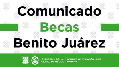 Becas Benito Juárez