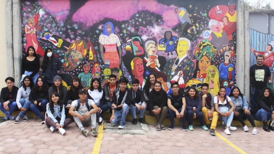 Inauguran murales en Magdalena Contreras
