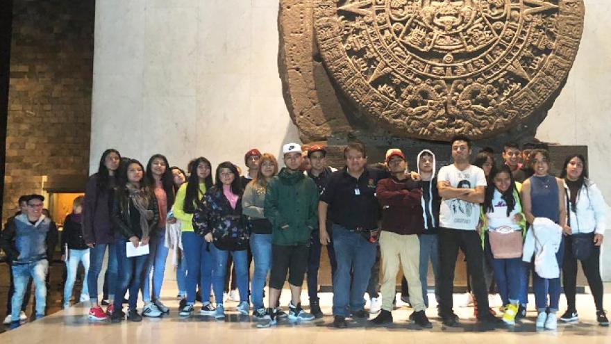 Visita al Museo Nacional de Antropología e Historia