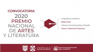 Premio Nacional de Artes y Literatura 2020