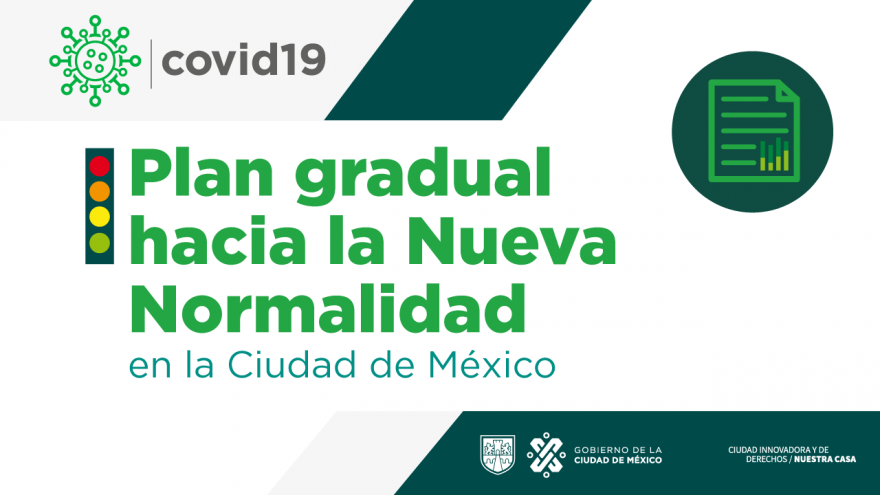 Plan Gradual hacia la Nueva Normalidad en la Ciudad de México