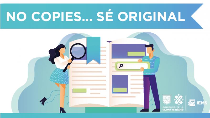 No copies... sé original