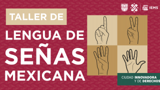 Taller de Lengua de Señas Mexicana (LSM)